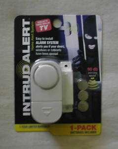 INTRUD ALERT   Home Alert System/Alarm Security System 629312040575