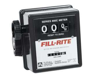 Fill Rite 807CMK Mechanical Fuel Transfer Pump Meter 3/4 Inch