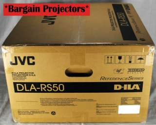 JVC DLA RS50 D ILA Home Theater Projector *HDMI* DLA X7