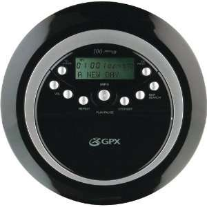 NEW GPX PC800 PORTABLE MP3/CD PLAYER (PERSONAL AUDIO