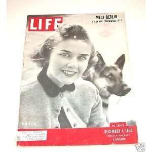 Magazine December 4, 1950    Cover: Berlin Girl: Henry Luce: Books