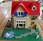 LEGO House With Duck Pond and Outdoor Setting 6754
