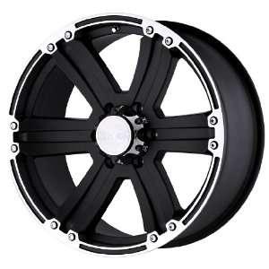 Black Rhino Wheels Dune Series Matte Black Wheel with Machined Lip