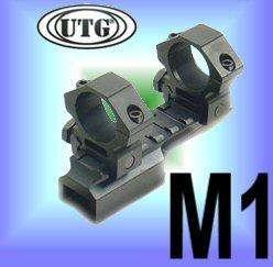 UAG M1 CARBINE RIFLE 4x30 P4 SNIPER SCOPE+MOUNT+RINGS