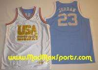 Michael Jordan USA North Carolina REVERSIBLE Jersey XXL