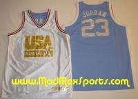 Michael Jordan USA North Carolina REVERSIBLE Jersey XXL |