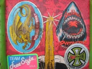 Vintage POWELL PERALTA SKATEBOARD Rat Bones Lance Mountain Tony Hawk