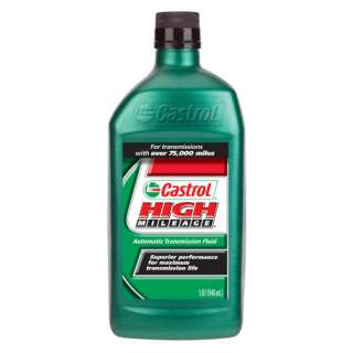 Castrol High Mileage Automatic Transmission Fluid, 1 qt Automotive