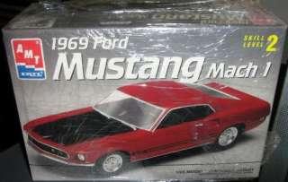 1969 Ford Mustang Mach 1 ERTL 1/25 Model Kit
