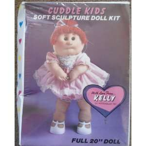 Cuddle Kids Soft Sculpture Doll Kelly