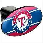Texas State Shape Black Automobile Trailer Hitch Cover