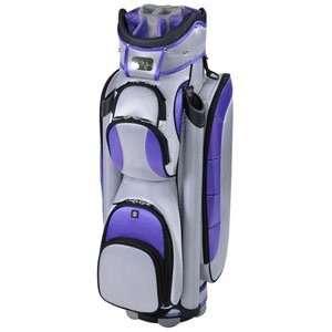 RJ Sports Ladies Bandon II Golf Cart Bags   SilverLavender