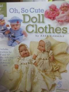 ANNIES ATTIC CROCHET PATTERN BOOK OH, SO CUTE DOLL CLOTHES 871048