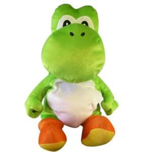 Nintendo Super Mario Bros. Yoshi Plush Backpack (18 Inch