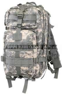 Military Level III Med Transport MOLLE Assault Pack Bag Backpack ACU