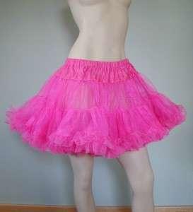LAYERED TULLE CRINOLINE Petticoat or Skirt PURPLE