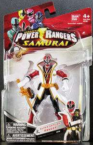 POWER RANGERS SAMURAI 4 RED SUPER SAMURAI RANGER FIRE 31701