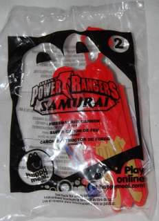 McDonalds 2011 Power Rangers Samurai Firesmasher Cannon #2 Toy