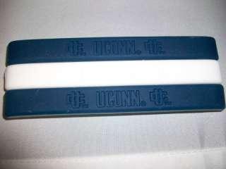 UCONN HUSKIES 9 Rubber Bracelets Wristbands