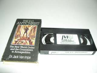The E.C. Antichrist VHS, Dr. Jack Van Impe, The New World Order and