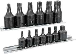15PC KIT TAMPER PROOF TORK BIT SOCKET DRIVER TOOL SET