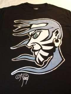 JEFF HARDY Self Portrait WWE Black T shirt TNA