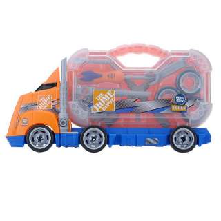 New The Home Depot Hauling Tool Truck Boys Toy Gift (048242503033